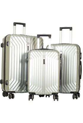 Pierre Cardin Valiz Set Pc5700-Set Gri