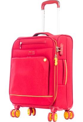 Verage Kabin Boy Valiz Vrg16056-S Kırmızı