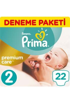 Prima Bebek Bezi Premium Care 2 Beden Mini Tekli Paket 22 Adet