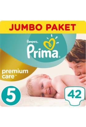 Prima Bebek Bezi Premium Care 5 Beden Junior Jumbo Paket 42 Adet