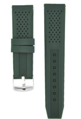 Ztd Strap 22Mm Yeşil Silikon Saat Kordonu Svg232