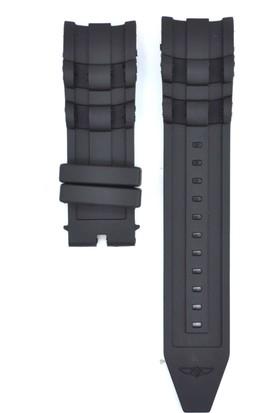 Ztd Strap İnvicta Uyumlu Pro Diver 6983 26Mm Siyah Silikon Saat Kordonu Inv121