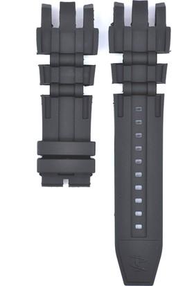 Ztd Strap İnvicta Uyumlu Reserve Gmt 6177 26Mm Siyah Silikon Saat Kordonu Inv111