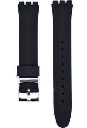 Ztd Strap Swatch Uyumlu 17Mm Silikon Saat Kordonu Swc124