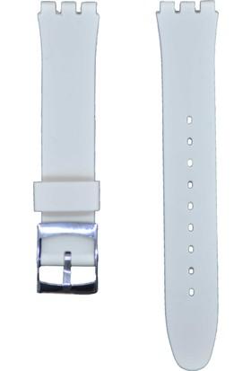 Ztd Strap Swatch Uyumlu 17Mm Silikon Saat Kordonu Swc120
