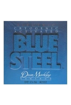 Dean Markley Blue Steel Drop Tune 2557 (13-56) - Elektro Gitar Tel Seti