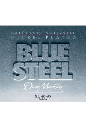 Dean Markley Blue Steel Nickel Plated Extra Light 2670A (40-95) - Bas Gitar Tel Seti