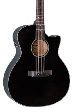 ESP LTD Tombstone A-300 Siyah Elektro Akustik Gitar