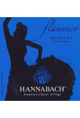 Hannabach Tel Flamenko Gitar (Alt 3'lü Set) (8278Ht)