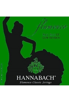 Hannabach Tel Flamenko Gitar (Alt 3'lü Set) (8278Lt)