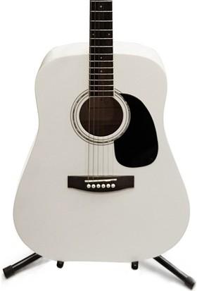 Jay Turser Jj-45-Wh Akustik Gitar