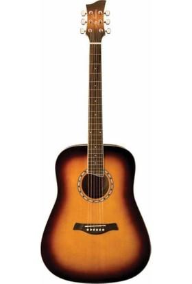 Jay Turser Gitar Akustik (Jta-450S-Atb)