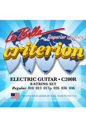 La Bella Tel Elektro Gitar 010 (C200R)