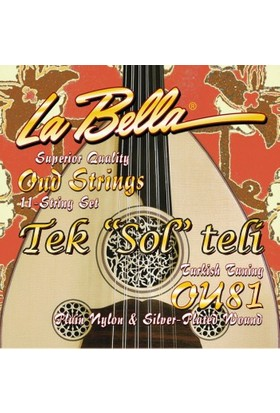 La Bella Tel Ud ''Sol'' (Çift) (Ou81)
