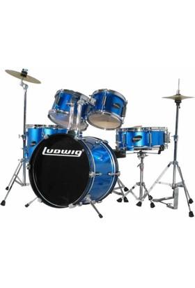 Ludwig Bateri Junior Accent 8''-10''-12''-13''-16'' Blue (5 Pc) (LJR1062)