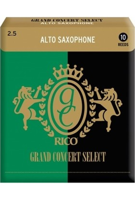 Rico Royal Grand Concert Select Alto Saksofon Kamışı (10'lu) No.2,5