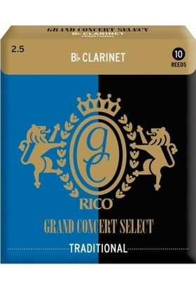 Rico Royal Grand Concert Select Sib Klarnet Kamışı (10'lu) No.2,5