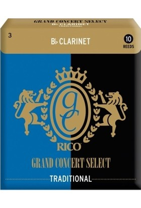 Rico Royal Grand Concert Select Sib Klarnet Kamışı (10'lu) No.3