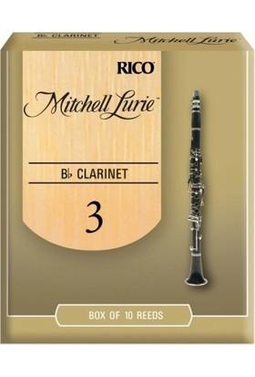 Rico Royal Mitchell Lurie Sib Klarnet Kamışı (10'lu) No.3