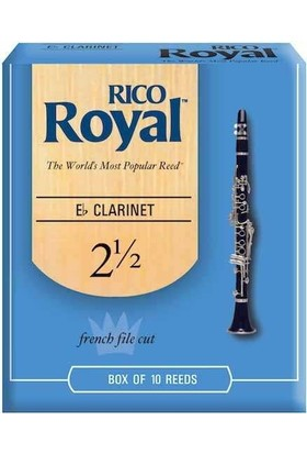 Rico Royal Mib Klarnet Kamışı (10'lu) No.2,5