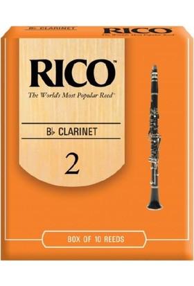 Rico Sib Klarnet Kamışı (10'lu) No.2