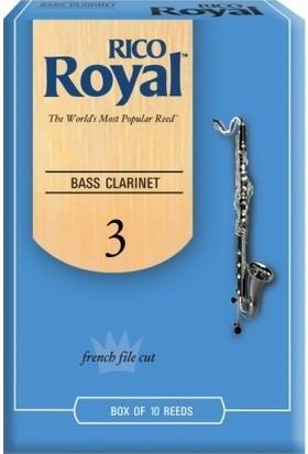 Rico Royal Bas Klarnet Kamışı (10'lu) No.3