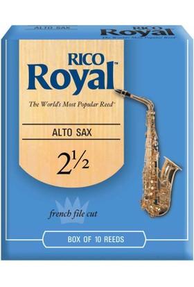 Rico Royal Alto Saksofon Kamışı (10'lu) No.2,5