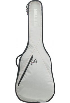 Ritter Kılıf Elektro Gitar Silver Grey - Red - White (RGP2-E-SRW)