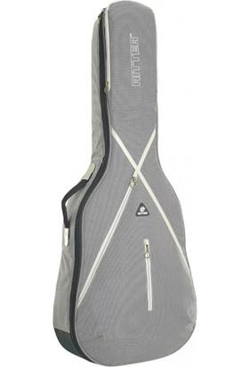 Ritter RGS7-B-SGL Bas Gitar Kılıfı (Steel Grey - Moon)