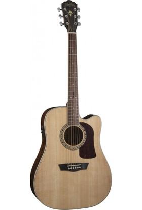 Washburn HD10SCE Heritage 10 Serisi Elektro Akustik Gitar