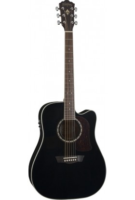 Washburn HD10SCEB Heritage 10 Serisi Elektro Akustik Gitar
