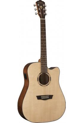 Washburn WLD10SCE Woodline 10 Serisi Elektro Akustik Gitar