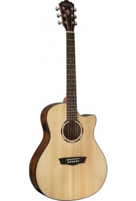 Washburn WLO10SCE Woodline 10 Serisi Elektro Akustik Gitar