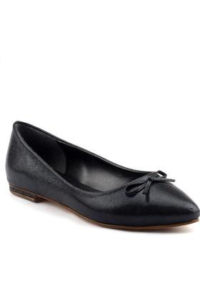Christina Rose 250 Siyah Büyük Numara Bayan Abiye Gelin Ayakkabı