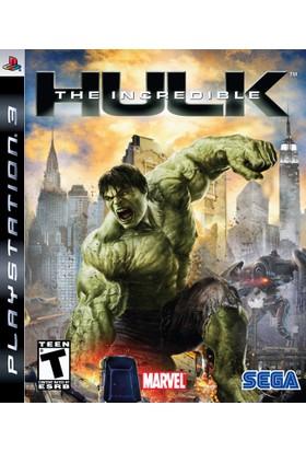 The İncredible Hulk Ps3 Playstation 3
