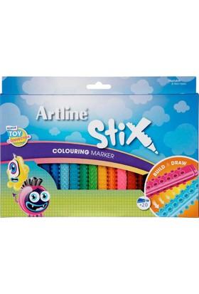 Artline Boya Kalemi Stix Brush Mar.20 Li Etx-F 20W