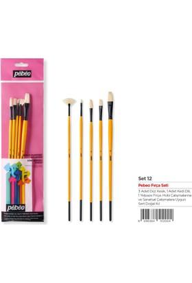 Pebeo Yağlı Boya Fırça Seti 5 Li Set-12