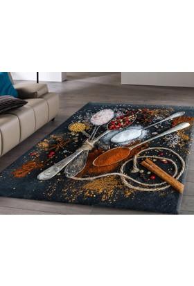 RugRita Kaşık Desenli Mutfak Halısı
