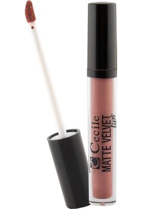 Cecile Matte Velvet Lipgloss 07
