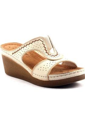 Jumportopedik Günlük Bayan Terlik Ayakkabı 14763