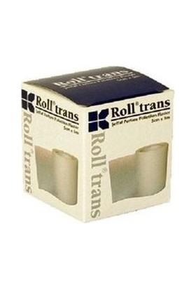 Roll Trans Şeffaf Perfore Polietilen Flaster 2.5Cm X 5M