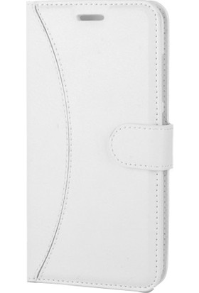 Etabibizde LG G4 Kapaklı Cüzdan Kılıf Dikişli Kartvizitli