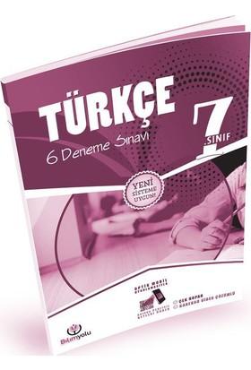 7. Sınıf Türkçe 6 Deneme Sınavı
