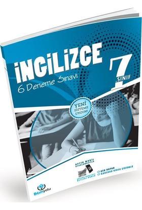 7. Sınıf İngilizce 6 Deneme Sınavı