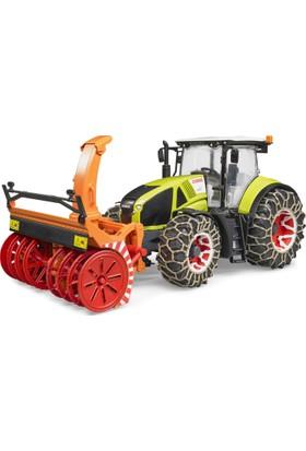Bruder Class Axion 950 Traktör (Zincirli) Ve Kat Atma Aparatı