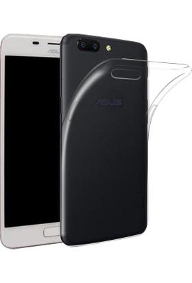 Case 4U Asus Zenfone 4 Max ZC554KL Kılıf Ultra İnce Silikon Şeffaf