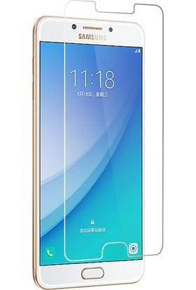 Case 4U Samsung Galaxy C7 Pro Ekran Koruyucu Temperli Cam