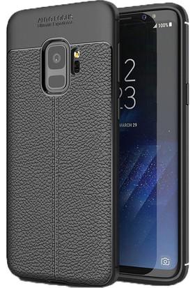 Case 4U Samsung Galaxy S9 Kılıf Darbeye Dayanıklı Niss Siyah
