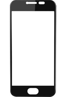 Case 4U General Mobile GM6 GM 6 Tam Kaplayan Ekran Koruyucu Siyah