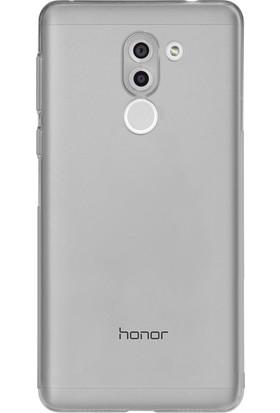 Case 4U Huawei Gr5 2017 Kılıf Ultra İnce Silikon Şeffaf